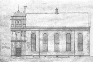 Architect Drawing of South Elevation